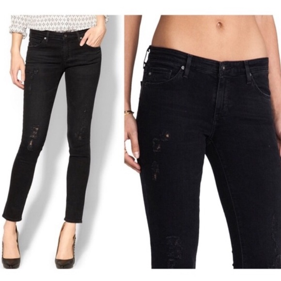 Ag Adriano Goldschmied Denim - AG Jeans | Legging Ankle Emerse Wash Black 28